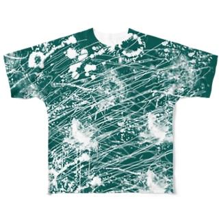 LIBRI PAINT WORK 012 フルグラフィックTシャツ