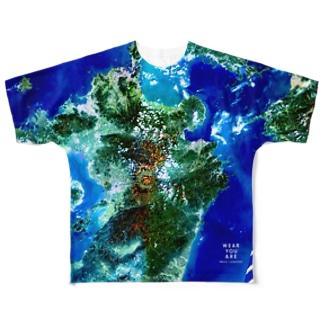 九州北部豪雨災害チャリティTシャツ片面 Full graphic T-shirts