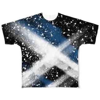 LIBRI PAINT WORK 015 Full graphic T-shirts