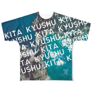 日本 Tシャツ 両面 Full graphic T-shirts