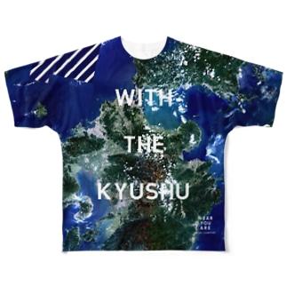九州北部豪雨災害チャリティTシャツ両面 Full graphic T-shirts