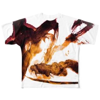 燃えろ!! Full graphic T-shirts