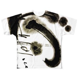 旋律 Full graphic T-shirts