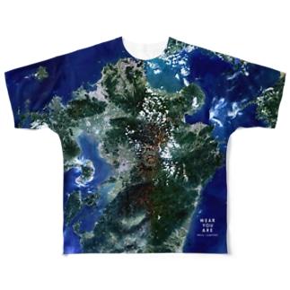大分県 日田市 Tシャツ 片面 Full graphic T-shirts