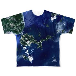山口県 岩国市 Tシャツ 両面 Full graphic T-shirts