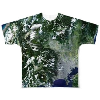 群馬県 藤岡市 Tシャツ 両面 Full graphic T-shirts