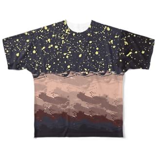 LIBRI PAINT WORK 024 フルグラフィックTシャツ