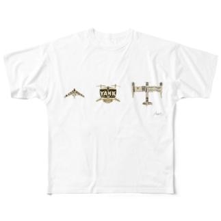 標本No.80_81_82 Full graphic T-shirts