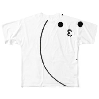 特大あざらしャツ Full graphic T-shirts