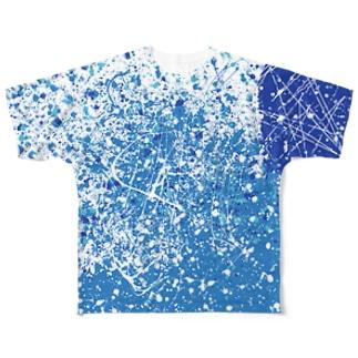LIBRI PAINT WORK 025 フルグラフィックTシャツ