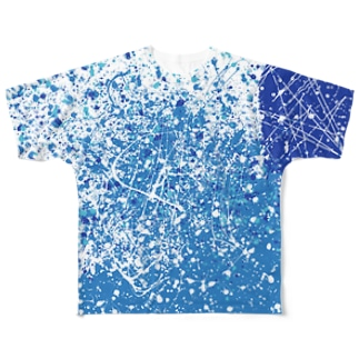 LIBRI PAINT WORK 025 Full graphic T-shirts