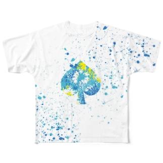 LIBRI PAINT WORK 026 フルグラフィックTシャツ