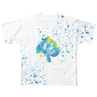 LIBRI PAINT WORK 026 Full graphic T-shirts