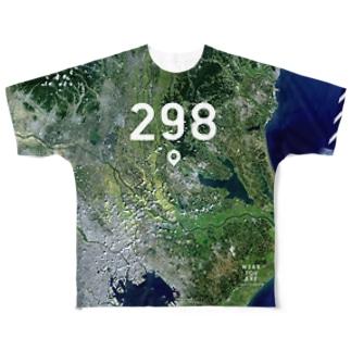 茨城県 つくば市 Tシャツ 両面 Full graphic T-shirts