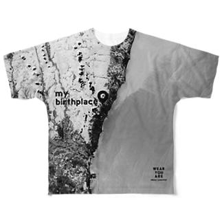 茨城県 日立市 Tシャツ 片面 Full graphic T-shirts