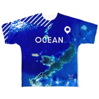 沖縄県 島尻郡 Tシャツ 両面 Full graphic T-shirts