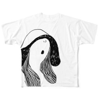 はみんぐ Full graphic T-shirts