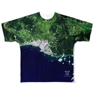 北海道 釧路郡 Tシャツ 両面 Full graphic T-shirts