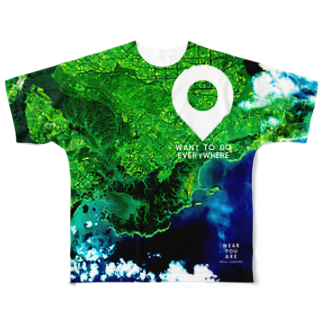 WEAR YOU AREの北海道 厚岸郡 Tシャツ 両面 Full graphic T-shirts