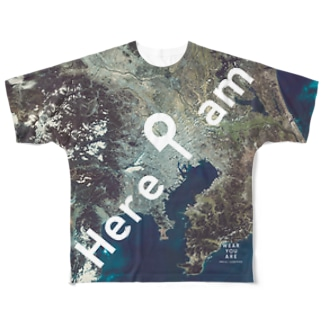 WEAR YOU AREの東京都 杉並区 Tシャツ 両面 Full graphic T-shirts