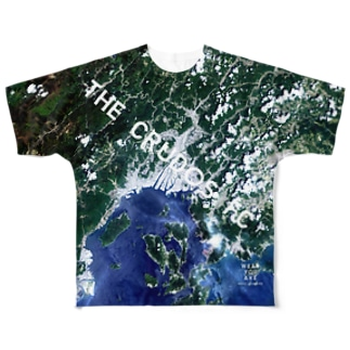 広島県 広島市 Tシャツ 片面 Full graphic T-shirts