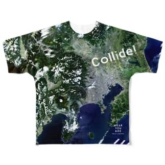 東京都 八王子市 Tシャツ 片面 Full graphic T-shirts