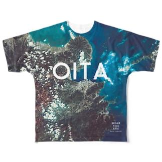 大分県 大分市 Tシャツ 両面 Full graphic T-shirts