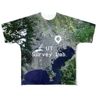 東京都 千代田区 Tシャツ 両面 Full Graphic T-Shirt
