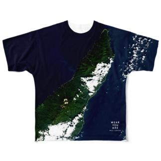 北海道 斜里郡 Tシャツ 両面 Full Graphic T-Shirt
