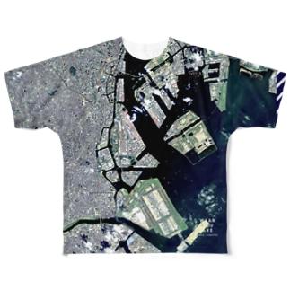 日本 Tシャツ 両面 Tシャツ 両面 Full Graphic T-Shirt