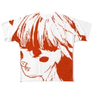 らぶらぶらぶ フルグラフィックTシャツ