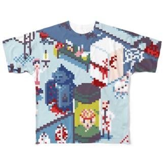 地下室 Full graphic T-shirts