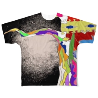 あしたを知る木 Full graphic T-shirts
