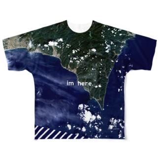 高知県 安芸郡 Tシャツ 片面 Full graphic T-shirts