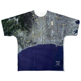 神奈川県 厚木市 Tシャツ 片面 Full graphic T-shirts