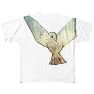 bird Full graphic T-shirts