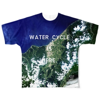 WEAR YOU AREの新潟県 上越市 Tシャツ 両面 Full graphic T-shirts