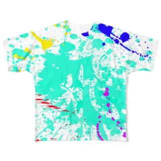 飛 Full graphic T-shirts