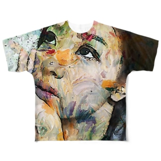 exotic girl Full graphic T-shirts