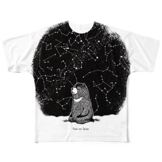 冬の星座 Full Graphic T-Shirt