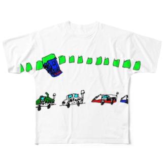 スーパーGT Full graphic T-shirts
