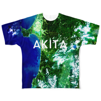 WEAR YOU AREの秋田県 秋田市 Tシャツ 両面 Full graphic T-shirts