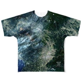 宮崎県 都城市 Tシャツ 片面 Full graphic T-shirts