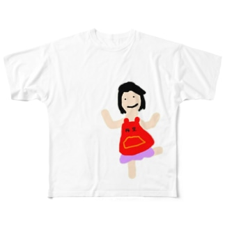 梅里まま Full graphic T-shirts