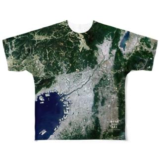 大阪府 茨木市 Tシャツ 片面 Full graphic T-shirts