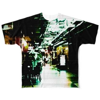 飲もうよ 浅草 Full graphic T-shirts