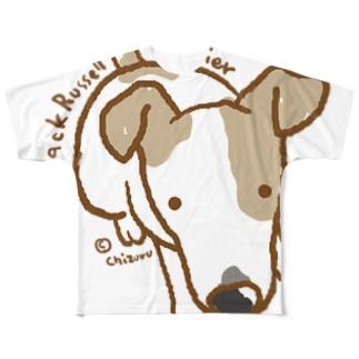 chizuruのジャックラッセル Full graphic T-shirts
