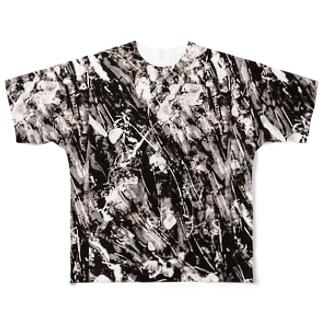 PET bottle cap Full graphic T-shirts