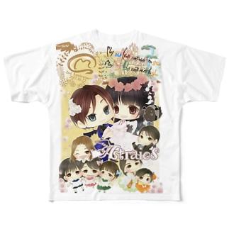 Astraios2周年Tシャツ Full graphic T-shirts