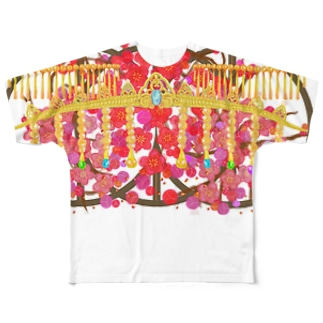 春の祝 Full graphic T-shirts